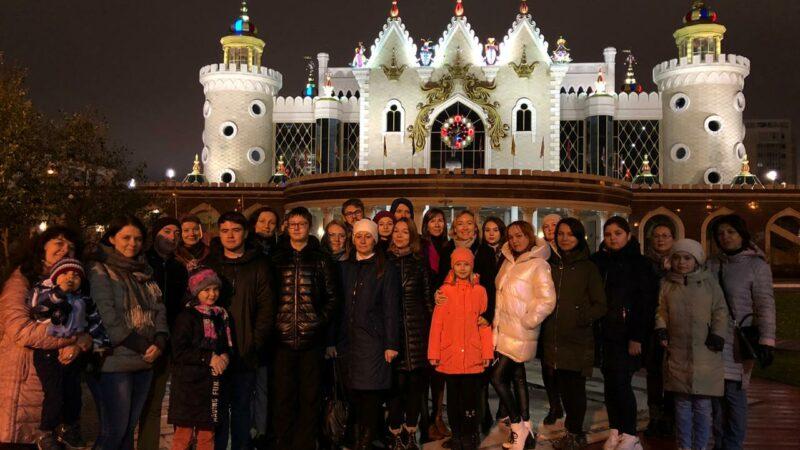 Экскурсия по ночной Казани